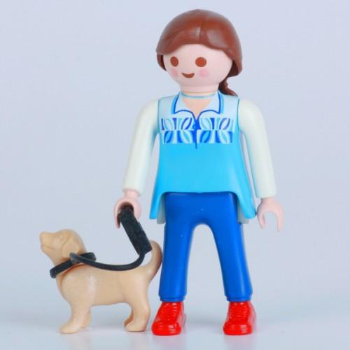 «Девочка со щенком» PM001039