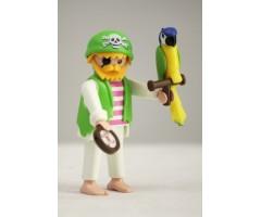 PM001076 Пират с попугаем