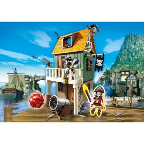 «Замаскированный Пиратский Форт с Руби» PM4796