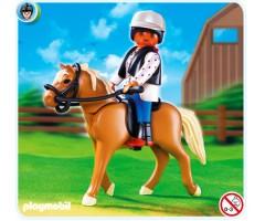 PM5109 Лошадь Хафлингер со стойлом