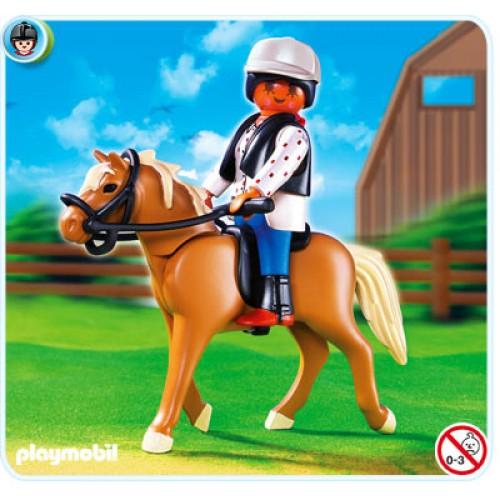 «Лошадь Хафлингер со стойлом» PM5109