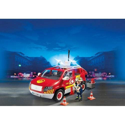 «Пожарная машина командира со светом и звуком» PM5364