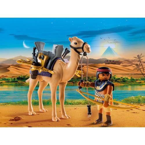 «Египетский воин с верблюдом» PM5389
