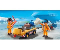PM5396 Буксир самолета с наземной командой