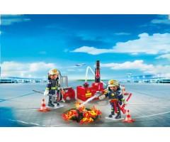 PM5397 Операция по тушению пожара с водяным насосом
