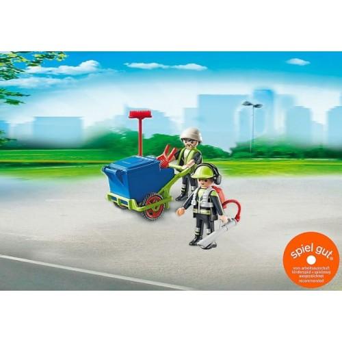 «Команда по уборке улиц города» PM6113