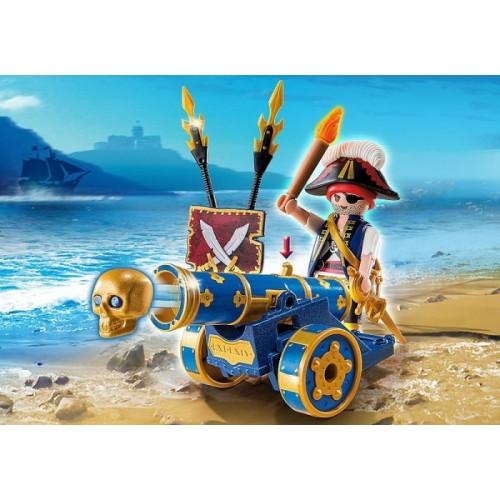 «Синяя интерактивная пушка с офицером пиратов» PM6164