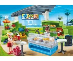 Магазин летних товаров с закусочной