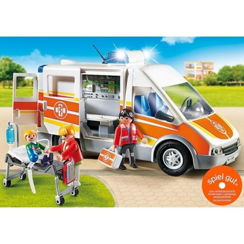 «Машина скорой помощи, со светом и звуком» PM6685