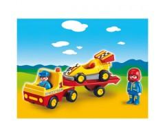 PM6761 Эвакуатор с гоночным автомобилем