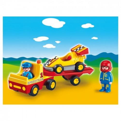 «Эвакуатор с гоночным автомобилем» PM6761