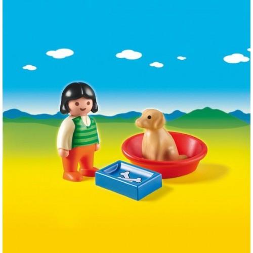 «Девочка с собакой» PM6796