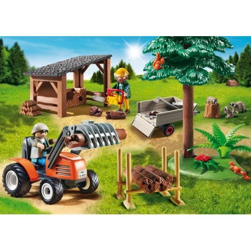 «Лесопилка с трактором» PM6814