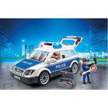 Полицейская машина со светом и звуком