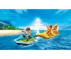 Гидроцикл с лодкой банан