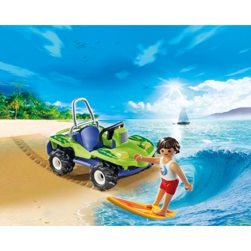 «Серфер с пляжным квадроциклом» PM6982