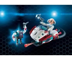 Скайджет с Доктором Х и Робот