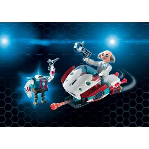 «Скайджет с Доктором Х и Робот» PM9003