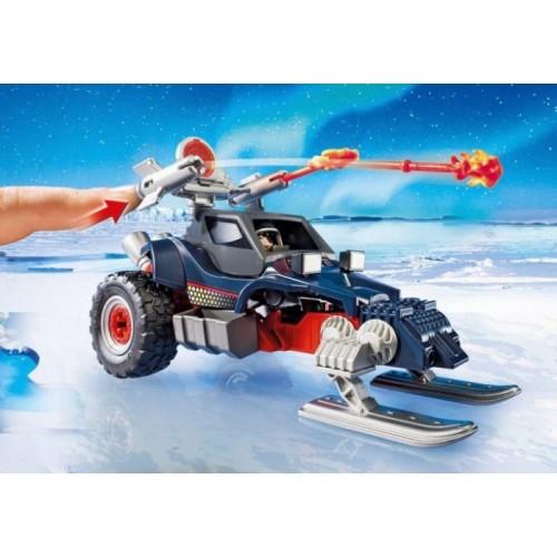 «Ледяной пират со  снегоходом» PM9058