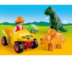 PM9120 Исследователь с динозаврами