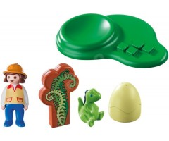 PM9121 Девочка и яйцо динозавра