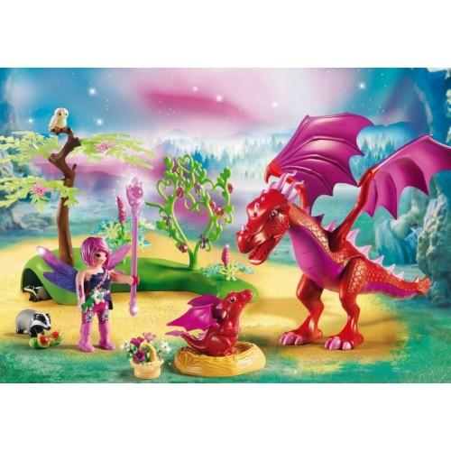 «Дружелюбный дракон с ребенком» PM9134
