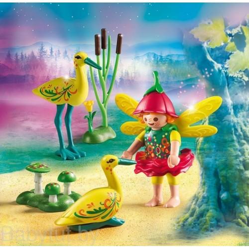 «Девочка-фея с аистами» PM9138