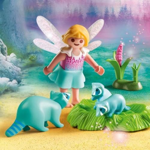 «Девочка-фея с енотами» PM9139
