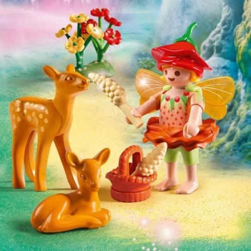«Девочка-фея с оленятами» PM9141
