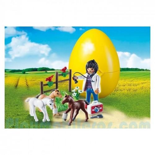 «Яйцо: Ветеринар с жеребятами» PM9207