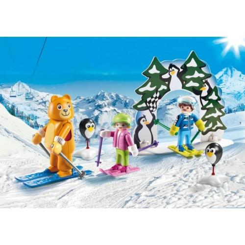 «Урок катания на лыжах» PM9282