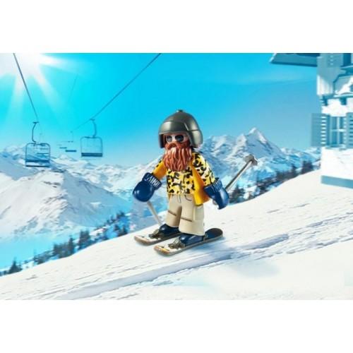 «Лыжник с палками» PM9284