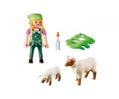 PM9356 Фермер с овцами