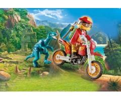 PM9431 Гоночный мотоцикл с ящером