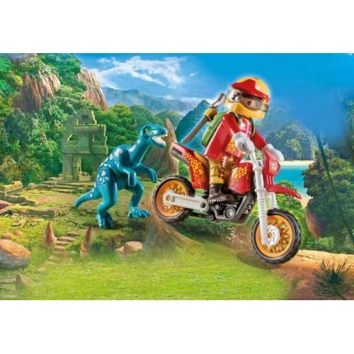 «Гоночный мотоцикл с ящером» PM9431