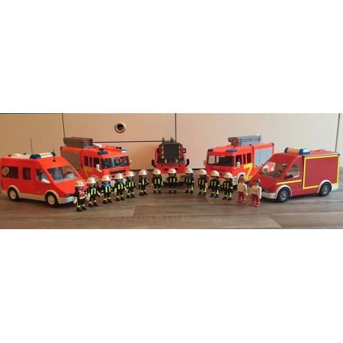 Бригада пожарных спешит на помощь!