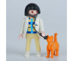 PM001071 Ветеринар с кошкой