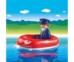 PM6795 Человек на лодке