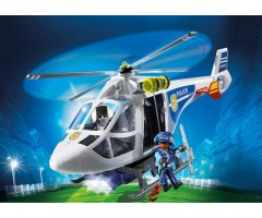 PM6921 Полицейский вертолет с LED прожектором