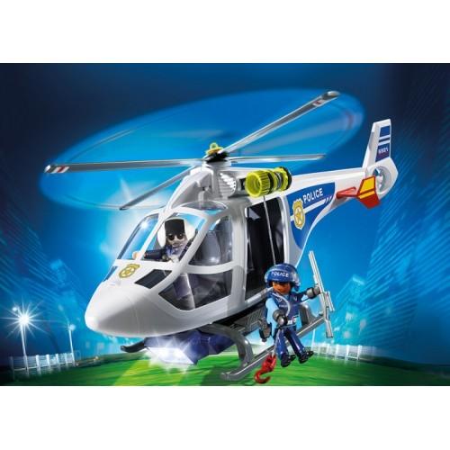 «Полицейский вертолет с LED прожектором» PM6921