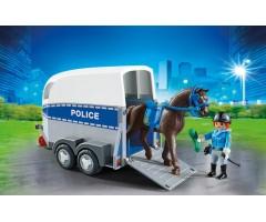PM6922 Полиция с лошадью и прицепом