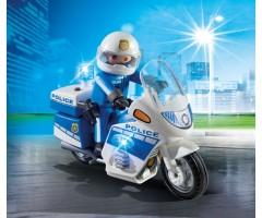 PM6923 Полицейский мотоцикл со светодиодом