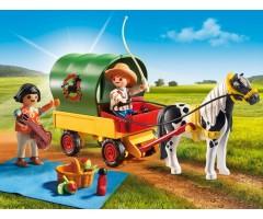 PM6948 Пикник с коневозкой
