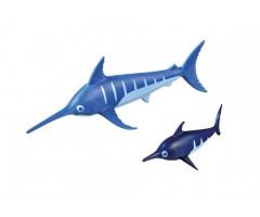Рыба-меч с детенышем
