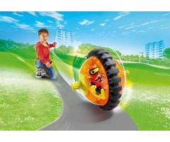 PM9203 Оранжевый гонщик на роликах
